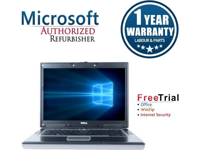 DELL Laptop Latitude D530 Intel Core 2 Duo 2.00 GHz 2 GB Memory 80 GB HDD Integrated Graphics 15.0