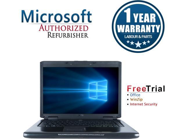 DELL Laptop Vostro 1500 Intel Core 2 Duo 1.60 GHz 2 GB Memory 80 GB HDD Integrated Graphics 15.4