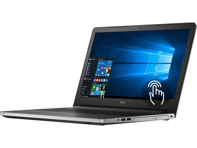 DELL Laptop Inspiron 15 i5559-1747SLV Intel Core i3 6100U (2.30 GHz) 6 GB Memory 1 TB HDD Intel HD Graphics 520 15.6