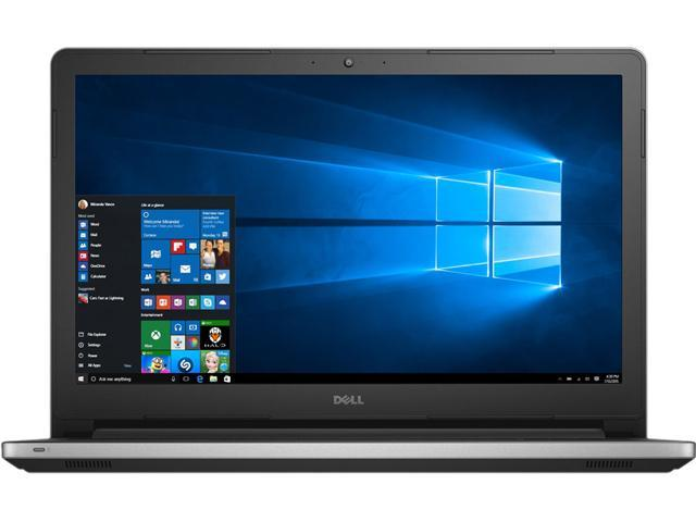 DELL Laptop Inspiron 15 i5559-3347SLV Intel Core i5 6200U (2.30 GHz) 8 GB Memory 1 TB HDD Intel HD Graphics 520 15.6