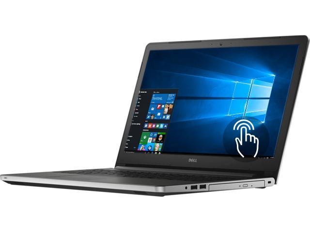 DELL Laptop Inspiron 15 i5559-7081SLV Intel Core i7 6500U (2.50 GHz) 8 GB Memory 1 TB HDD AMD Radeon R5 M335 15.6