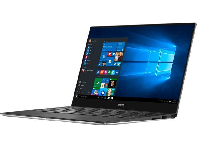 DELL XPS 13 XPS9350-5341SLV Laptop Intel Core i7-6560U (2.20 GHz) 8 GB Memory 256 GB SSD Intel Iris Graphics 540 13.3