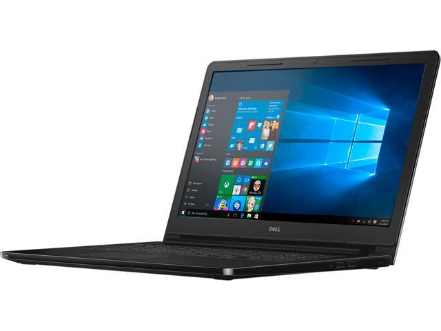 DELL Laptop Inspiron 15-3552 (i3552-4041BLK) Intel Celeron N3050 (1.60 GHz) 4 GB Memory 500 GB HDD Intel HD Graphics 15.6