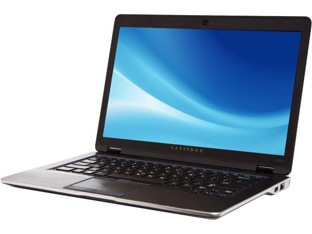 DELL Latitude 6430U Intel Core i7 3rd Gen 3687U (2.10 GHz) 8 GB Memory 256 GB SSD Intel HD Graphics 4000 14