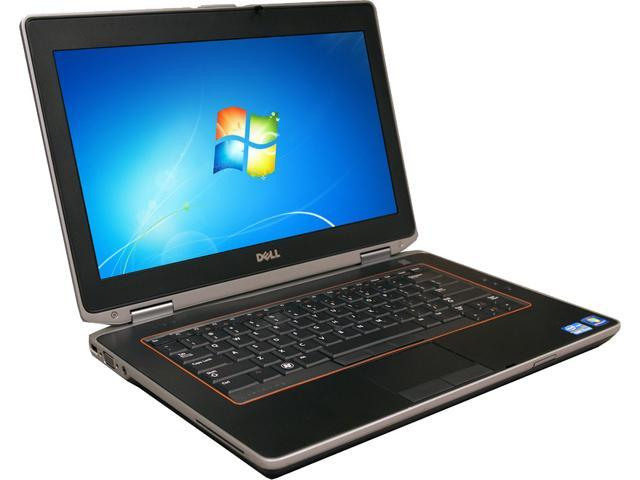 DELL B Grade Laptop e6420 Intel Core i5 2.50 GHz 4 GB Memory 250 GB HDD 14.0