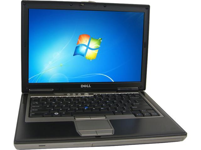 DELL B Grade Laptop d630 Intel Core 2 Duo 2.00 GHz 2 GB Memory 80 GB HDD 14.1
