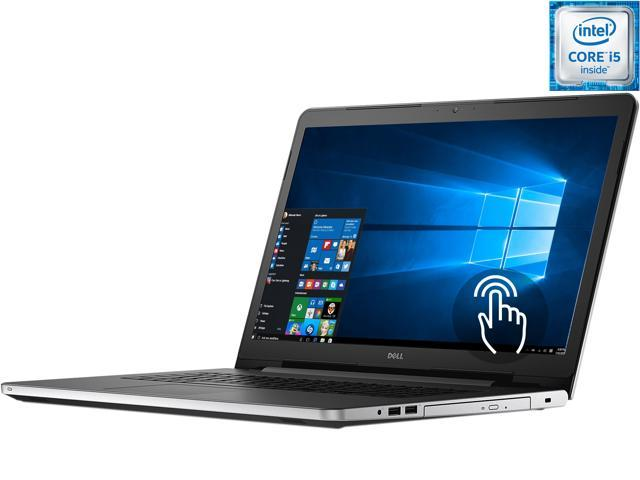 DELL Laptop Inspiron i5759-5306SLV Intel Core i5 6200U (2.30 GHz) 8 GB Memory 1 TB HDD Intel HD Graphics 520 17.3