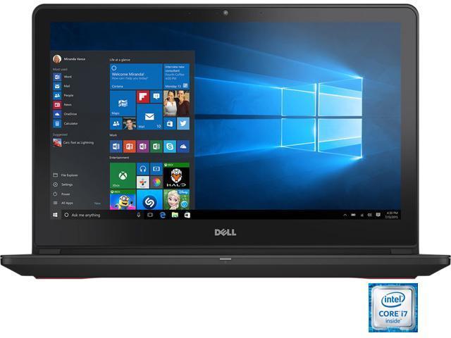 DELL Inspiron i7559-2512BLK Gaming Laptop Intel Core i7 6700HQ (2.60 GHz) 8 GB Memory 1 TB HDD 8 GB SSD NVIDIA GeForce GTX 960M 4 GB GDDR5 15.6