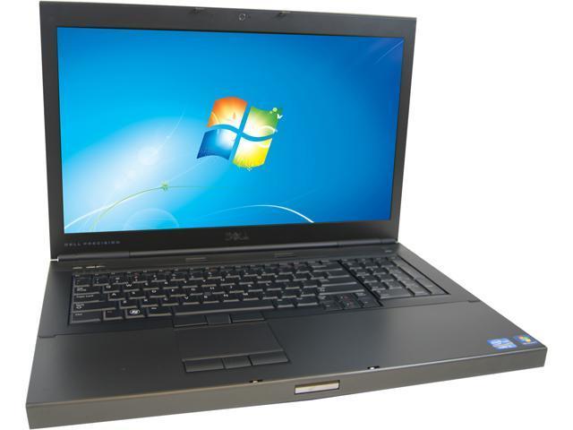 DELL Laptop M6600 Intel Core i7 2.70 GHz 8 GB Memory 128 GB SSD 17.3