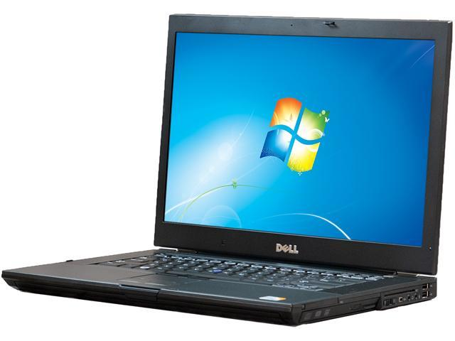 DELL Laptop E6500 Intel Core 2 Duo 2.40 GHz 4 GB Memory 320 GB HDD 15.4
