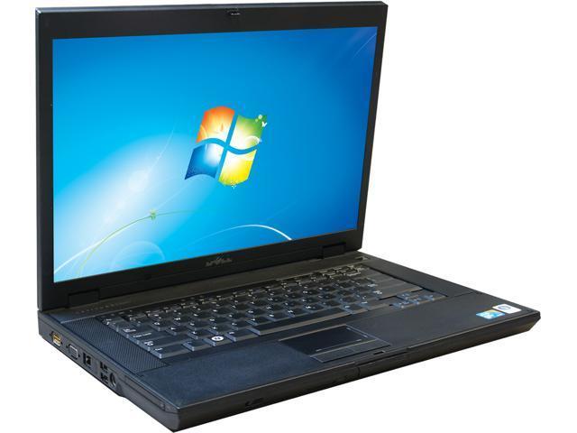DELL Laptop E5500 Intel Core 2 Duo 2.53 GHz 4 GB Memory 750 GB HDD 15.4