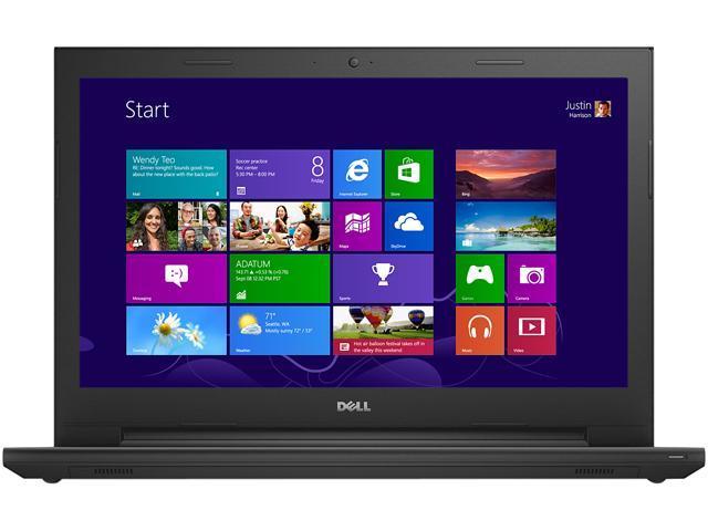 DELL Laptop Inspiron 15 3000 i3542-3267BK Intel Core i3 4005U (1.7 GHz) 4 GB Memory 1 TB HDD Intel HD Graphics 4400 15.6