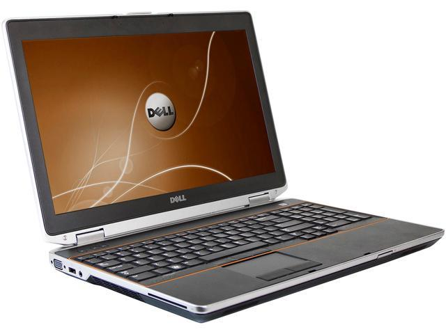DELL Laptop Latitude E6520 Intel Core i5 2nd Gen 2410M (2.30 GHz) 6 GB Memory 128 GB SSD Intel HD Graphics 3000 15.6