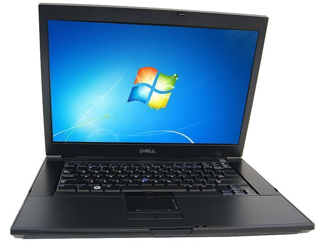 DELL B Grade Laptop Latitude E6500 Intel Core 2 Duo 2.40 GHz 4 GB Memory 160 GB HDD 15.4