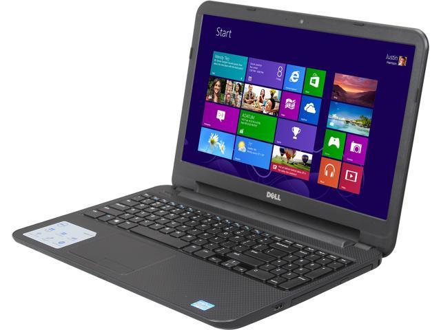 DELL Laptop Inspiron i15RV-8524BLK Intel Core i5 3337U (1.80 GHz) 6 GB Memory 500 GB HDD Intel HD Graphics 4000 15.6