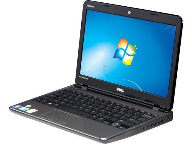 "DELL im11z-3593blk 11.6"" Windows 7 Home Premium Notebook, B Grade"