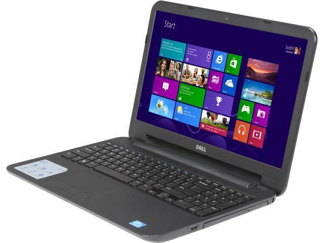 "DELL Laptop Inspiron 15 i15RV-4290BLK Intel Celeron 1017U (1.60 GHz) 4 GB Memory 320 GB HDD Intel HD Graphics 15.6"" Windows ..."