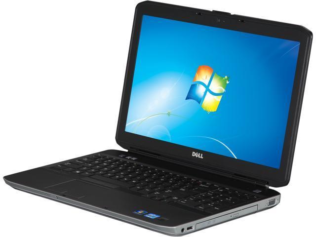 """DELL Latitude E5530 Intel Core i5-3230M 2.6GHz 15.6"""" Windows 7 Professional 64-bit Notebook"""