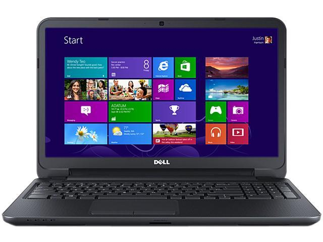 DELL Laptop Inspiron 15 (i15RV-3767BLK) Intel Core i3 3217U (1.80 GHz) 6 GB Memory 500 GB HDD Intel HD Graphics 15.6