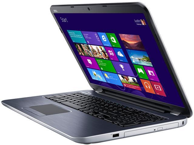 DELL Laptop Inspiron 17R-5721 Intel Core i7 3537U (2.00 GHz) 8 GB Memory 1 TB HDD Intel HD Graphics 4000 17.3