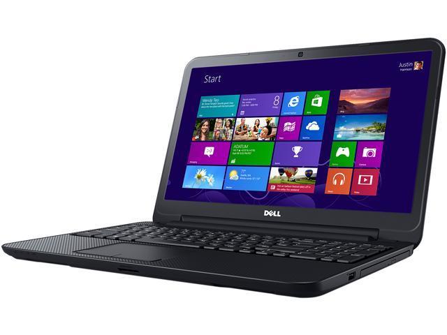 DELL Laptop Inspiron 15 (i15RV-8525BLK) Intel Core i3 3227U (1.90 GHz) 6 GB Memory 500 GB HDD Intel HD Graphics 4000 15.6