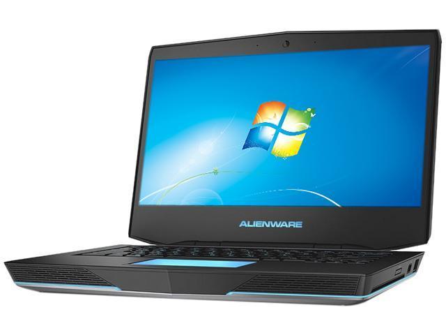 DELL Alienware 14 (ALW14-1250sLV) Gaming Laptop Intel Core i5 4200M (2.50 GHz) 8 GB Memory 750 GB HDD NVIDIA GeForce GT 750M 1GB GDDR5 14.0