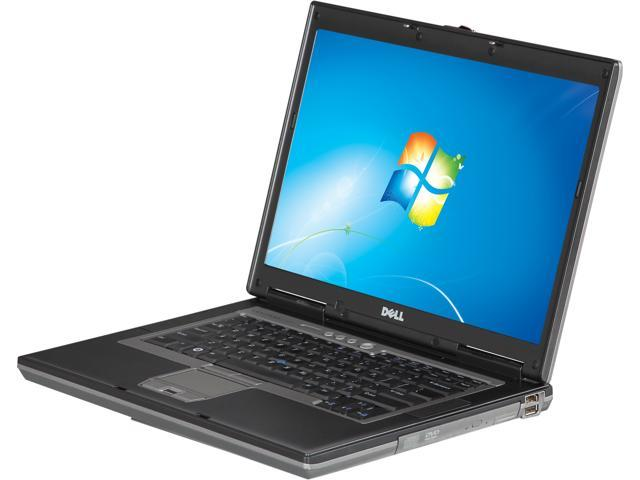 DELL Laptop Latitude D820 Intel Core 2 Duo T7100 (1.80 GHz) 2 GB Memory 120 GB HDD 120 GB SSD 15.4