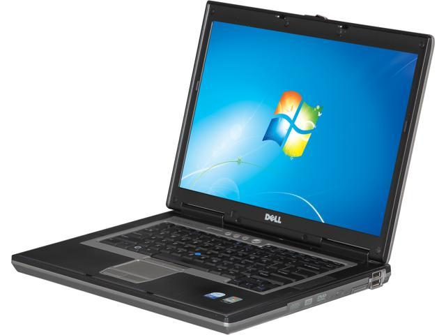 DELL Laptop Latitude D830 Intel Core 2 Duo T7100 (1.80 GHz) 2 GB Memory 120 GB HDD 120 GB SSD 15.4