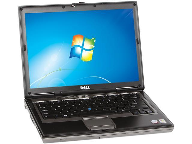 DELL Laptop D630 Intel Core 2 Duo 1.80 GHz 2 GB Memory 80 GB HDD Integrated Graphics 14.0