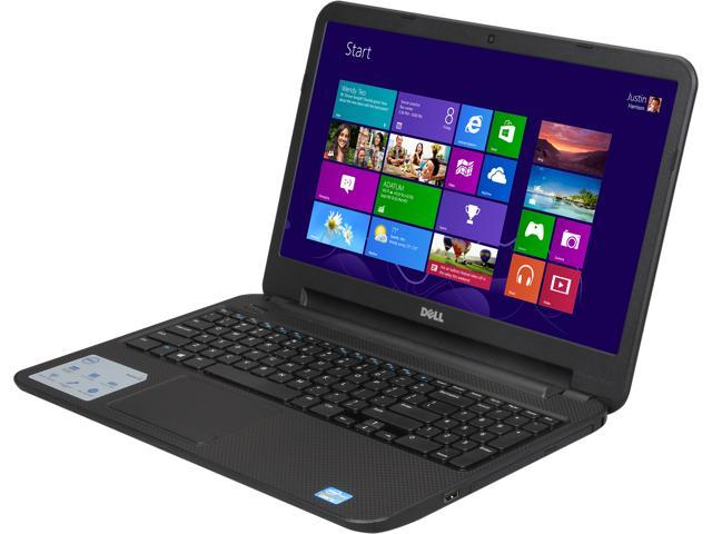DELL Laptop Inspiron i15RV-1435BLK Intel Core i3 3217U (1.80 GHz) 4 GB Memory 500 GB HDD Intel HD Graphics 4000 15.6