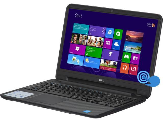 "DELL Laptop Inspiron i15RVT-13333BLK Intel Core i5 4200U (1.60 GHz) 6 GB Memory 500 GB HDD Intel HD Graphics 4400 15.6"" Touchscreen ..."