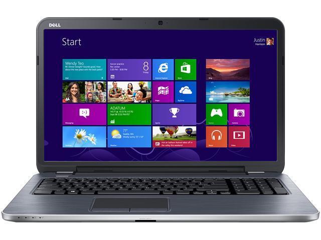 DELL Laptop Inspiron i17RM-3551sLV Intel Core i5 4200U (1.60 GHz) 6 GB Memory 500 GB HDD Intel HD Graphics 4400 17.3