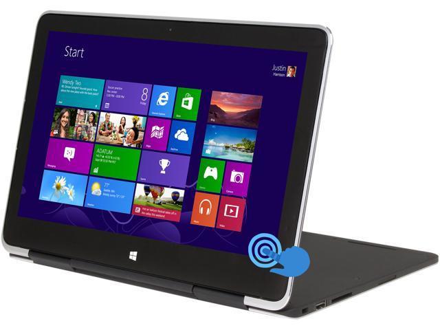 "DELL XPS XPS11-9091CFB Intel Core i5 4 GB Memory 128 GB SSD 11.6"" Touchscreen Notebook Windows 8.1 64-bit"