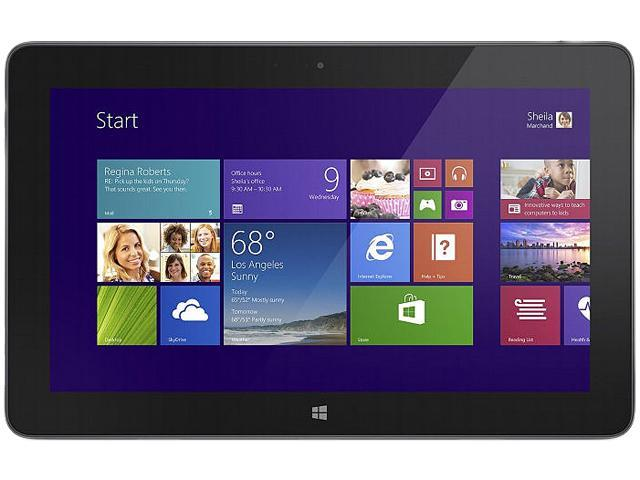 """Dell Venue 11 Pro Tablet PC - 10.8"""" - In-plane Switching (IPS) Technology - Intel Core i5 i5-4300Y 1.60 GHz - Black"""