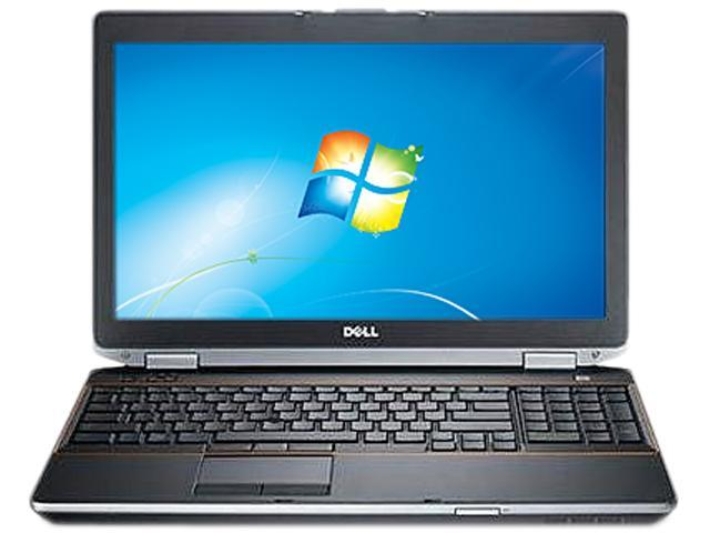 "DELL Laptop Latitude E6520 Intel Core i5 2520M (2.50 GHz) 4 GB Memory 320 GB HDD Intel HD Graphics 3000 15.6"" Windows 7 Professional"