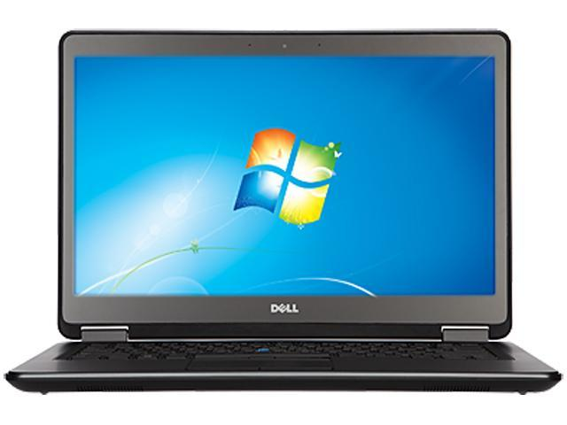 DELL Latitude E7440 Intel Core i7 8 GB Memory 256 GB SSD Notebook Windows 7 Professional 64-Bit