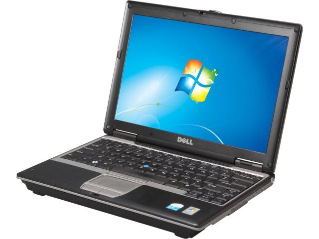 DELL Laptop Latitude D430 Intel Core 2 Duo U7600 (1.20 GHz) 2 GB Memory 60 GB HDD 60 GB SSD 12.1