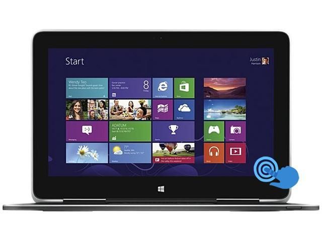 "DELL XPS 9P33 (461-7225) Intel Core i5 4 GB Memory 128 GB SSD 11.6"" Touchscreen Ultrabook Windows 8.1 Pro 64-Bit"