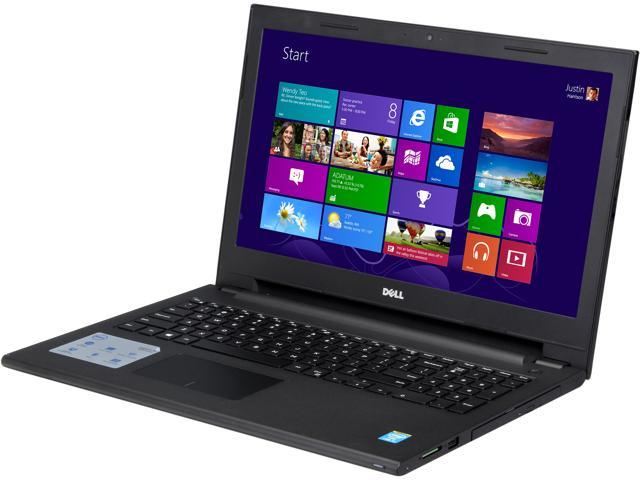 DELL Laptop Inspiron 15 i3542-3333BK Intel Core i3 4030U (1.90 GHz) 4 GB Memory 500 GB HDD Intel HD Graphics 15.6