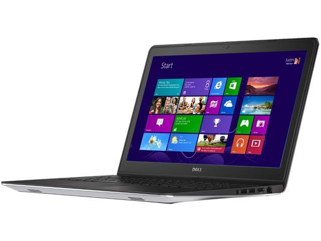 DELL Laptop Inspiron 15 i5547-5780sLV-2YR Intel Core i7 4510U (2.00 GHz) 8 GB Memory 1 TB HDD Intel HD Graphics 4400 15.6
