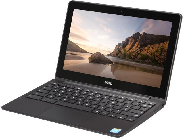 DELL Chromebook 730-8302 Chromebook Intel Celeron 2955U (1.40 GHz) 2 GB Memory 16 GB SSD 11.6