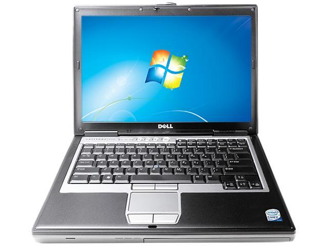 DELL Laptop D630-W7P Intel Core 2 Duo 1.80 GHz 2 GB Memory 100 GB HDD 14.0