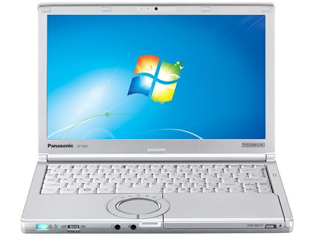 Panasonic Laptop Toughbook CF-SX2JDAZ1M Intel Core i5 3320M (2.60 GHz) 4 GB Memory 320 GB HDD 12.1