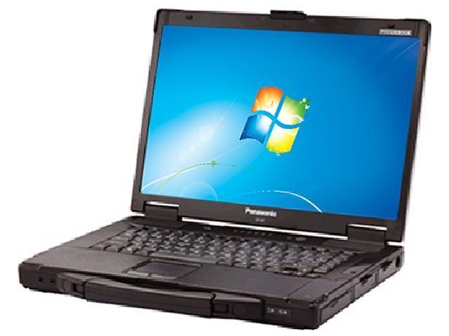 "Panasonic Toughbook 15.4"" Windows 7 Home Premium Notebook"