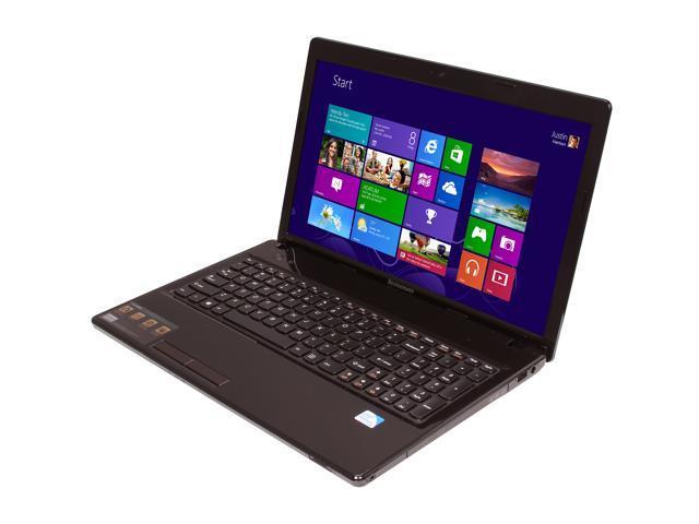 Lenovo Laptop IdeaPad G580 (59345886) Intel Pentium dual-core B960 (2.2 GHz) 4 GB Memory 320 GB HDD Intel HD Graphics 15.6