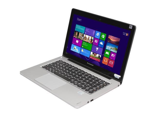 """Lenovo IdeaPad U310 (59351642) Intel Core i3 4 GB Memory 500 GB HDD 24 GB SSD 13.3"""" Ultrabook Windows 8"""