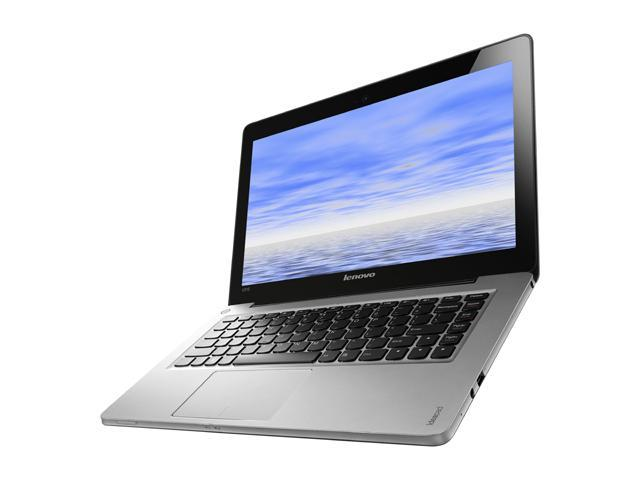 "Lenovo IdeaPad U310 (59351646) Intel Core i7 4 GB Memory 500 GB HDD 24 GB SSD 13.3"" Ultrabook Windows 8"