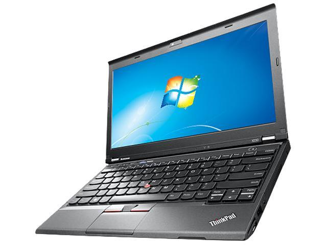 ThinkPad Notebook with Ultra Base Series3 X Series X230 Intel Core i5 3rd Gen 3320M (2.60 GHz) 4 GB Memory 320 GB HDD Intel HD Graphics 4000 12.5