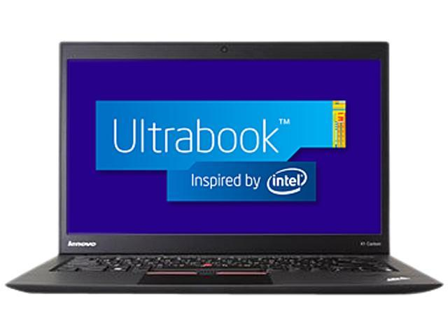 ThinkPad Ultrabook X1 Carbon (346023U) Intel Core i5 3rd Gen 3427U (1.80 GHz) 4 GB Memory 256 GB SSD Intel HD Graphics 4000 14.0