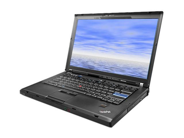 "Lenovo Laptop R400 Intel Core 2 Duo 2.26 GHz 2 GB Memory 80 GB HDD 14.0"" Windows XP Professional"